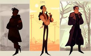 Fallout OCs by CharliOak