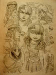 HTTYD Character Sketches 001