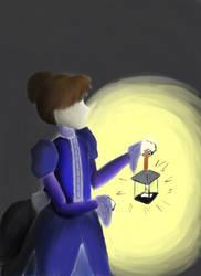 Victorian Lamp by xYumiChanx