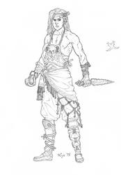 The Seafaring Rogue by KenjisArtDump