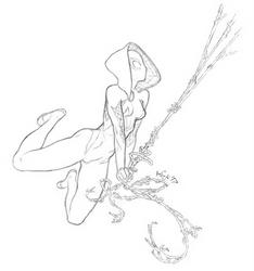 Swinging Gwen by KenjisArtDump