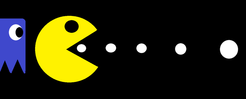 Pacman by Leathercladkitty
