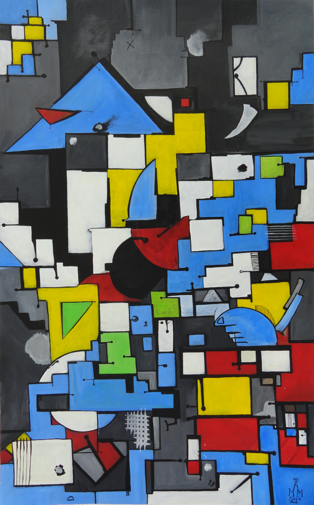 Composition 00 by Maurice-Le-Coq