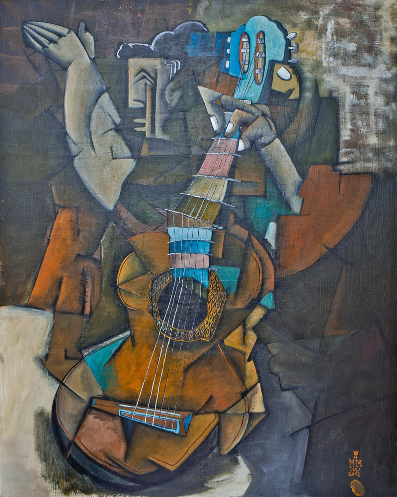 Guitar player by MoritzMiessl on DeviantArt