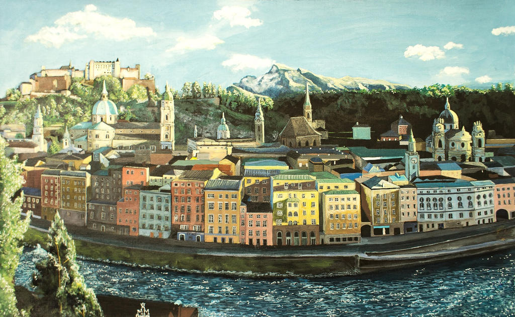 Salzburg by Maurice-Le-Coq
