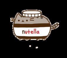 Pusheen 'Nutella' by Feeling0od