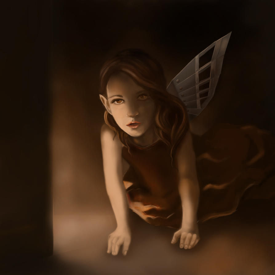 Lost wing by Ausminja