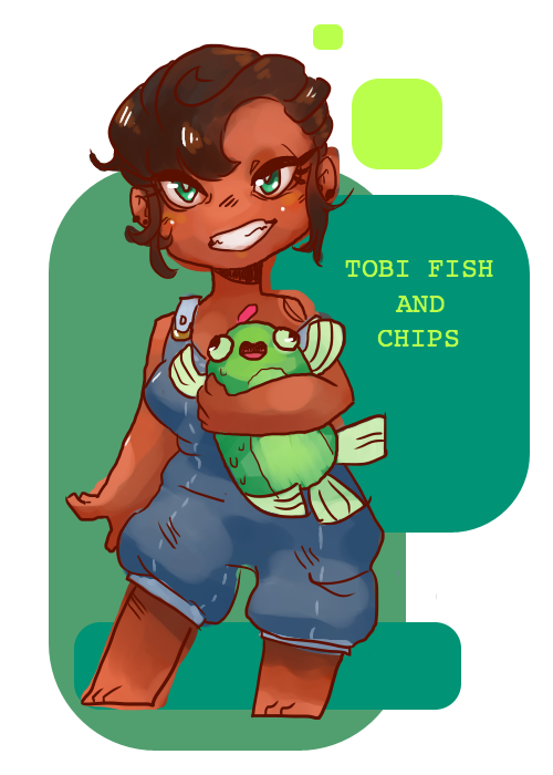 Tobi Fish And Chips - Witchsona by SwankyBird