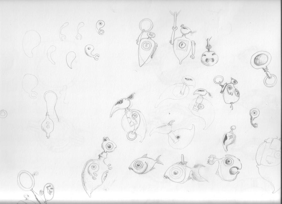 sketch book drawings for jewelry by jewelsvine on DeviantArt