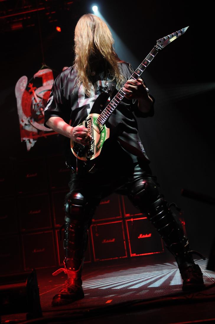 Jeff Hanneman of Slayer by kingsnakejeff on DeviantArt