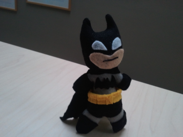 Batman plushie by Funk-Golem