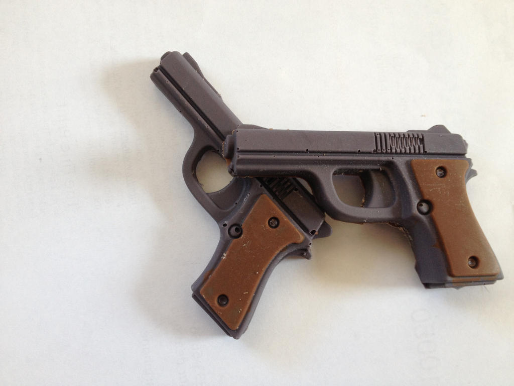 Chocolate Guns by Stonedsun on DeviantArt