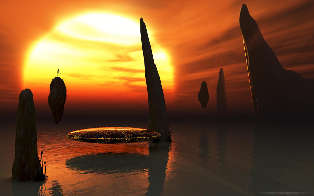 Planet Ycrophya by 303artwork
