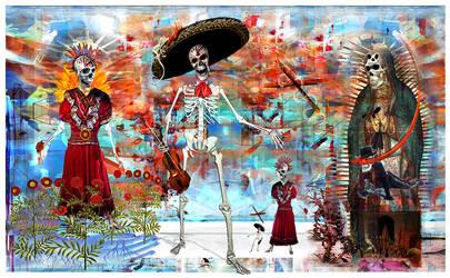 Dia De Los Muertos apparition