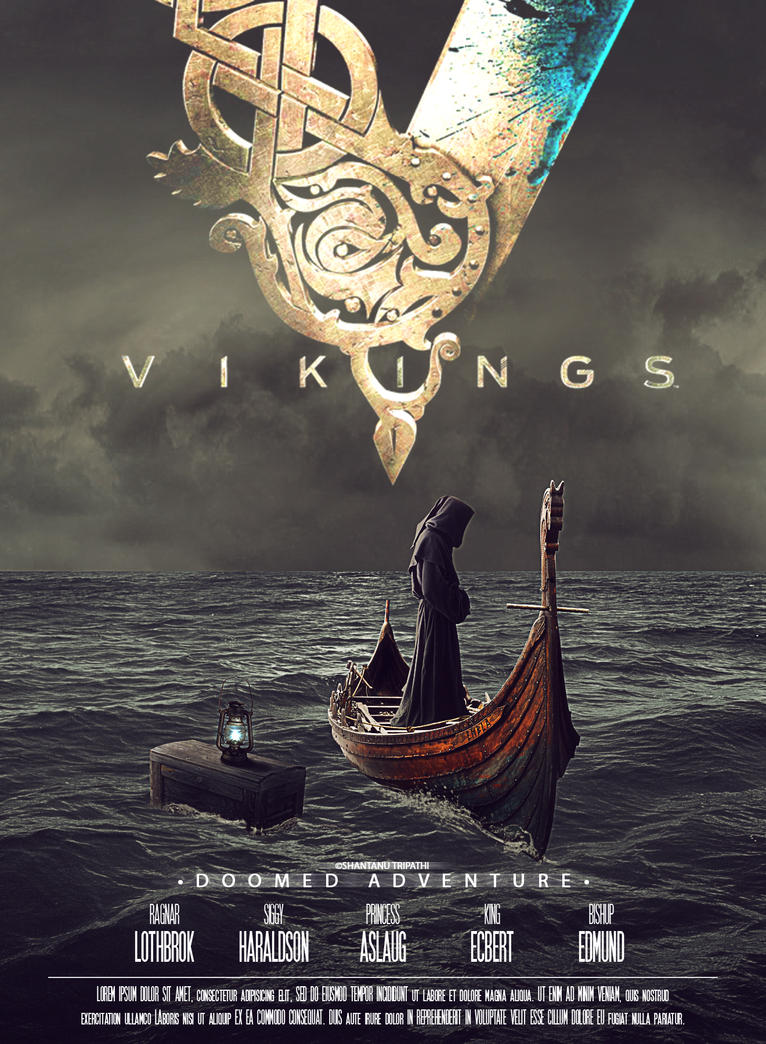 Vikings Movie Poster By Dashaan On Deviantart