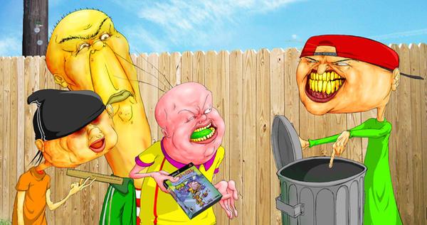 Cartoons cartoons otra forma de verlos