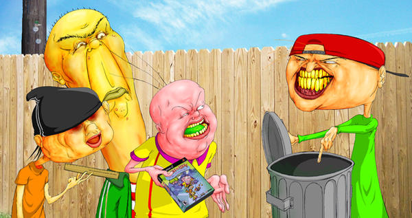 Ed Edd n Eddy Mis-Edventures by GreencardLove
