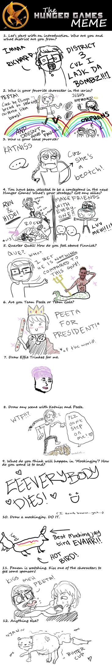 The Hunger Games meme by richyman95