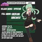 My Villain Academia - Hebimi (Viperine) by SuchiMonix