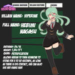 My Villain Academia - Hebimi (Viperine)