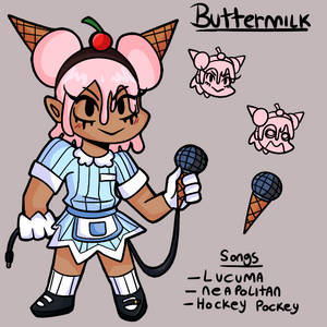 (FNF OC) Buttermilk