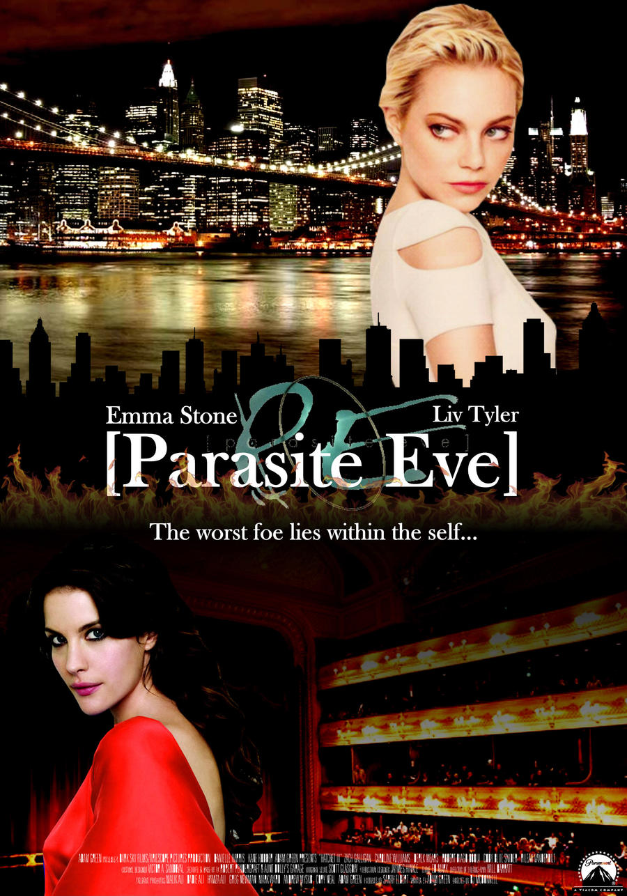 parasite eve movie poster by prinzhaldir on deviantart
