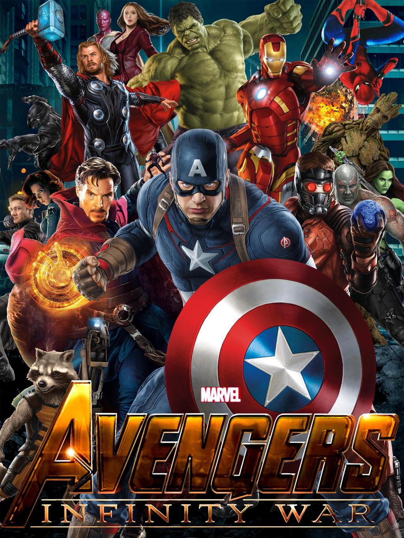 Poster Film Avengers Infinity War