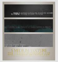 Medium textures Set 1 by frozenDi