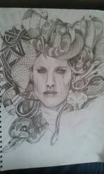 WIP .. Medusa  by chef1847
