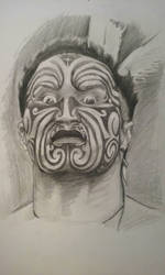 Maori warrior by chef1847