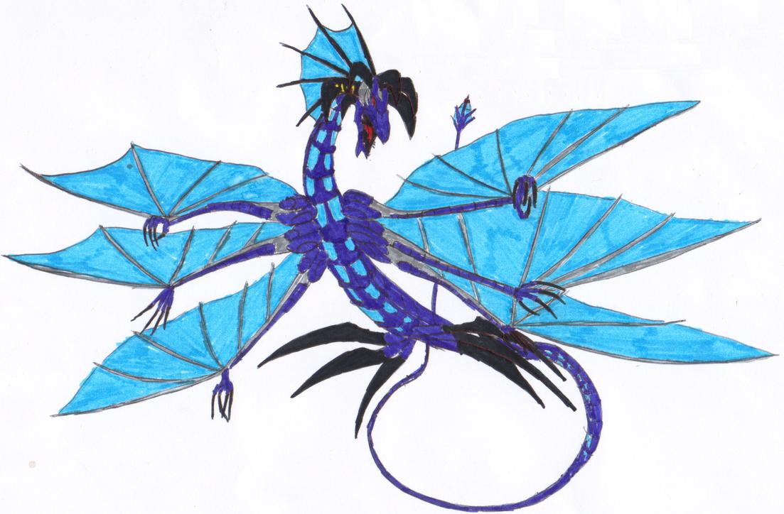 Number 17: Leviathan Dragon YCHMD by XBrain130 on DeviantArt