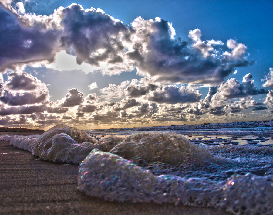 The sea HDR