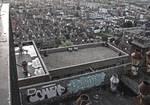 Graffiti and leiden view