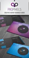 RW Pro Pixels Business Cards