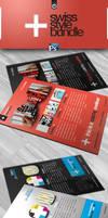 RW Swiss Style Flyer Bundle by Reclameworks