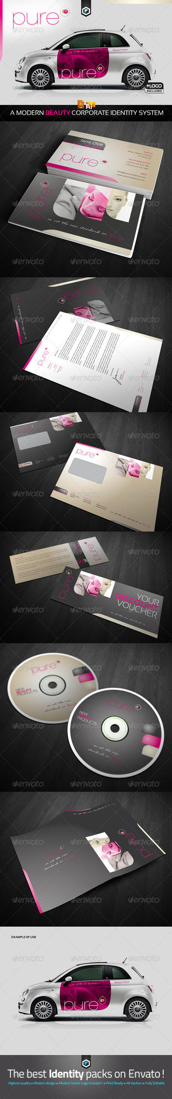 RW Beauty Salon Corporate Identity V2 by Reclameworks