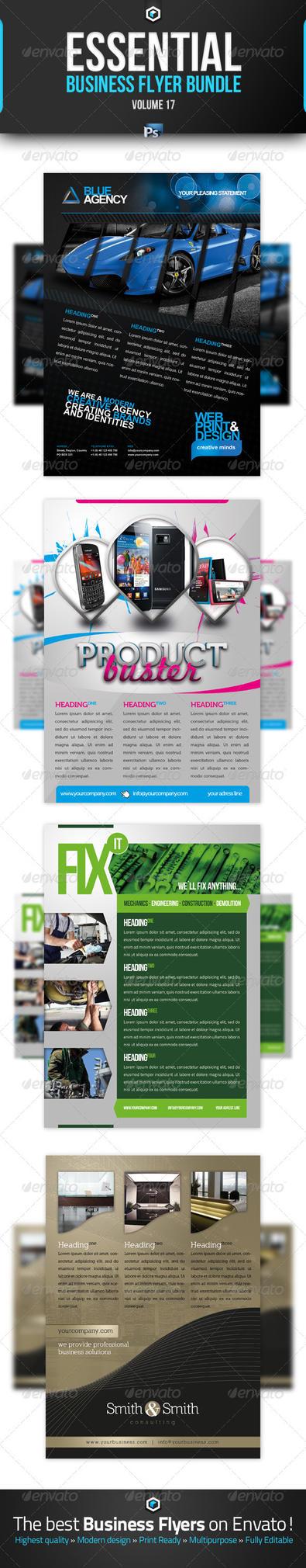 RW Essential Business Flyer Bundle Vol 17 by Reclameworks