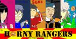 Horny Rangers (Title Card) (Throwback Thursday) by SL-ShadowLeagueGamer