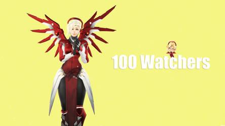 [SFM] Mercy Eidgenossin [100 Watchers Special] by 11819514113124