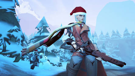 Winter Ashe by 11819514113124