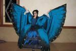 Morpho Butterfly Ballgown
