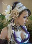 White Tribal Fusion Costume