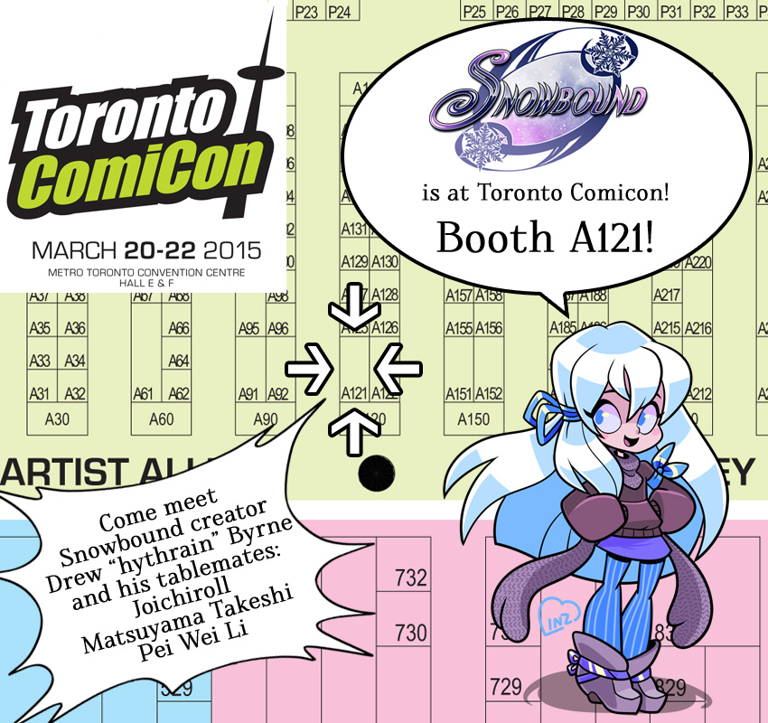 Comicon 2015 Location by hythrain