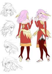Star of Destiny: Raina the Angel Redesign by hythrain