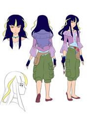 Star of Destiny: Mayla the Artist by hythrain
