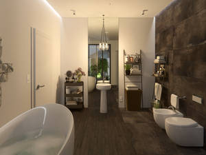 Bedroom-Bathroom (Teddy bears) 3