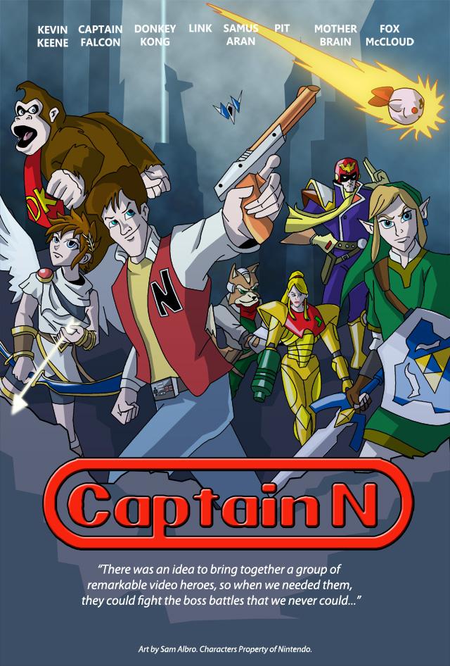 Captain N Poster