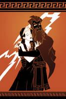 Zeus and Hera by N-ZERO