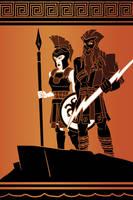 Zeus and Athena by N-ZERO