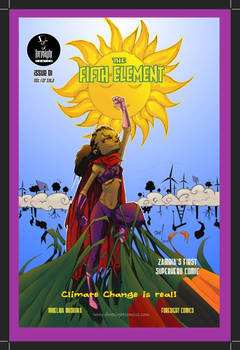 The Fifth Element issue 001 Cover Colors